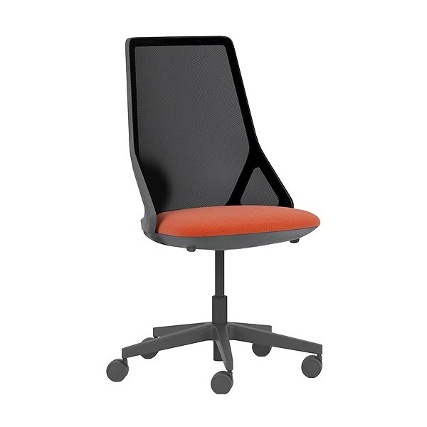 Pledge Cicero High Back Black Task Chair