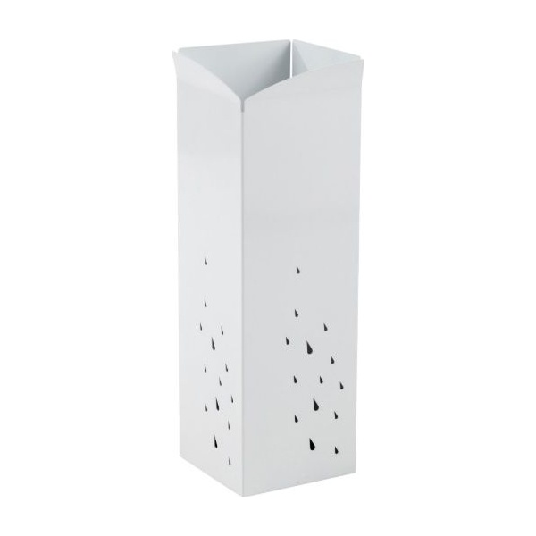 Raindrop Umbrella Stand - White