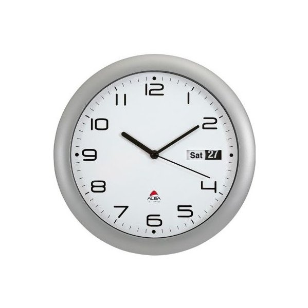 Alba Wall Clock With Date Display