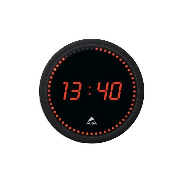 Alba Round LED Wall Clock