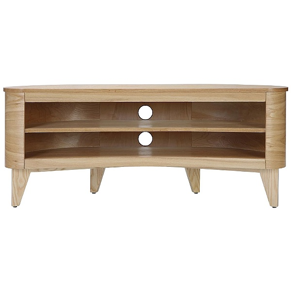 Pacific Curved TV Stand