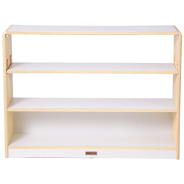 Alps Open Back 3 Shelf Classroom Storage Unit