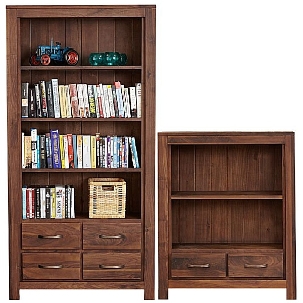 Fernhurst Solid Walnut Bookcases