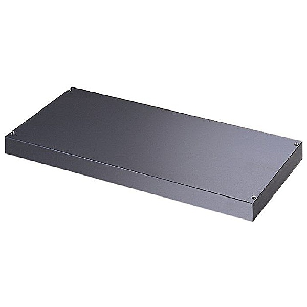 Tambour Cupboard Plain Steel Shelf
