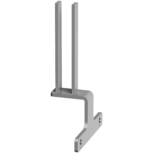 Balance Back To Back Desk Screen Intermediate Brackets (Pair)