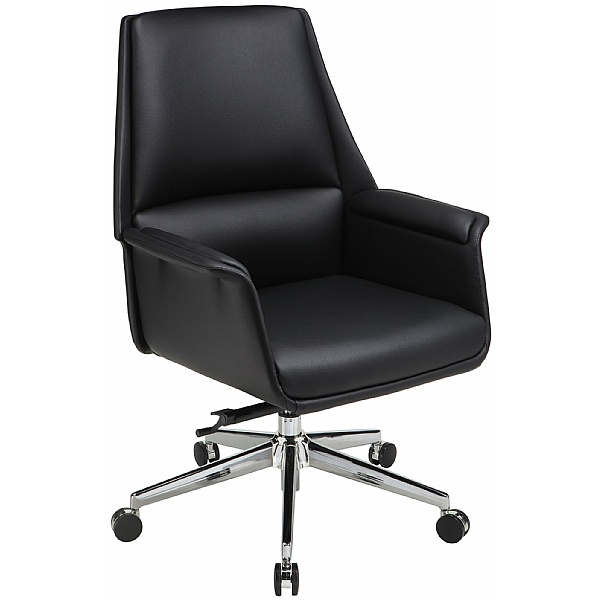 Porto Medium Back Bonded Leather Manager Chair