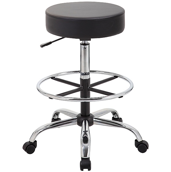 Jota Anti-Bac Vinyl Draughtsman Stool