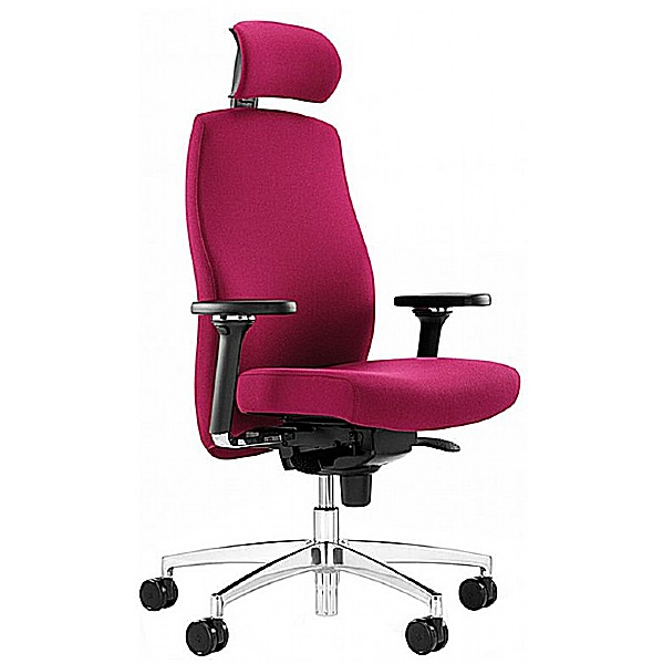 Komac One 24 Hour Task Chair With Headrest