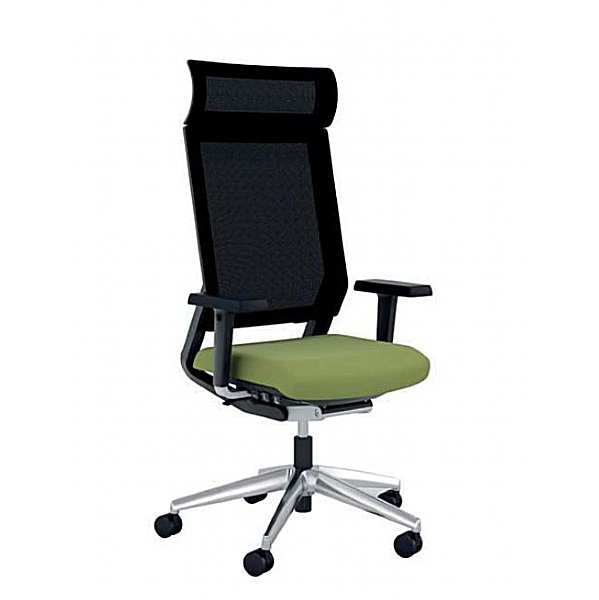 Elite I-Sit 24 Hour Mesh Task Chair With Headrest