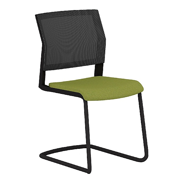 Elite I-Sit Mesh Cantilever Visitor Chair