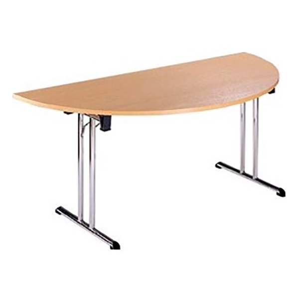 NEXT DAY Unite II Classic Semi Circular Folding Tables
