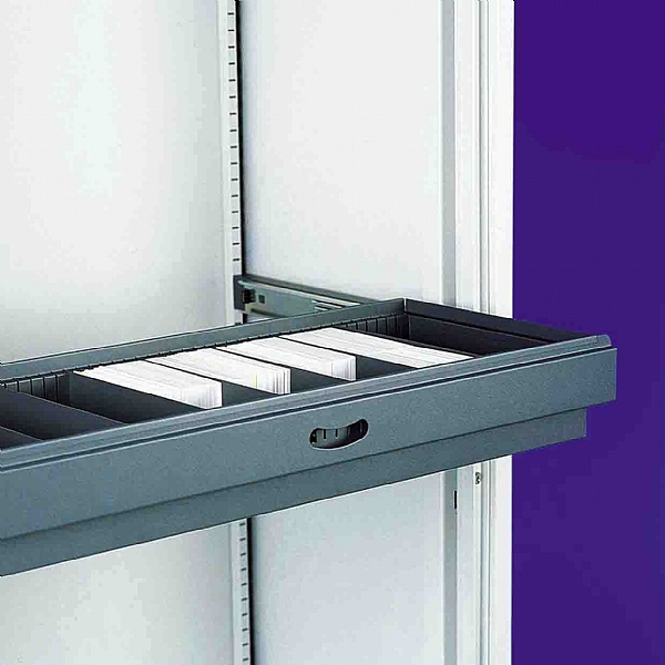 Silverline Slotted Drawer