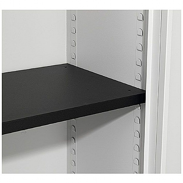 NEXT DAY Commerce II Steel Tambour Cupboard Extra