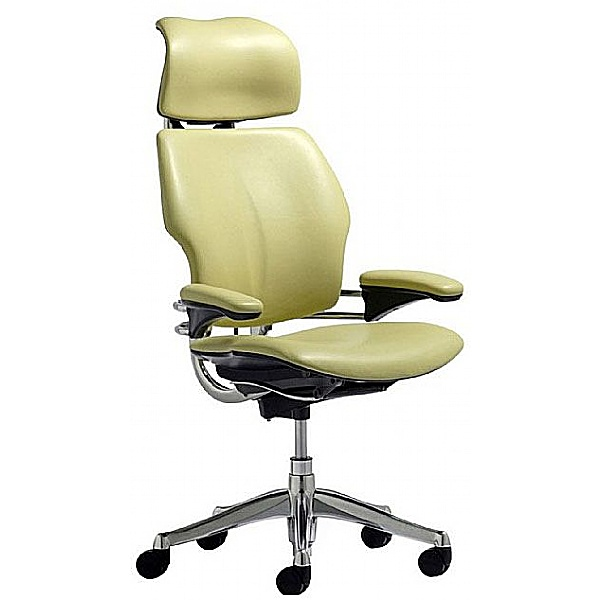 Humanscale Freedom Leather Task Chair With Headres
