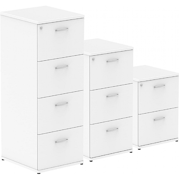 NEXT DAY InterAct Filing Cabinets White