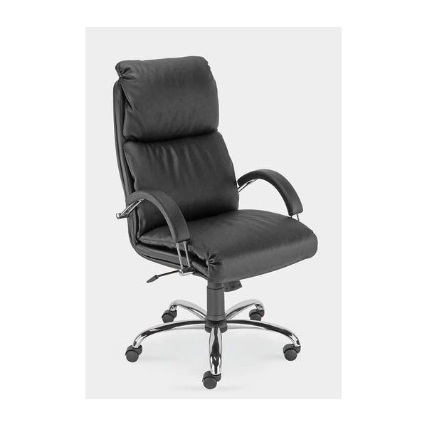 Nadir Leather Faced Manager Chair