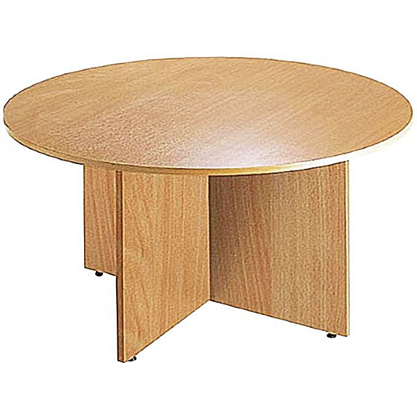 Informal Round Cruciform Meeting Table
