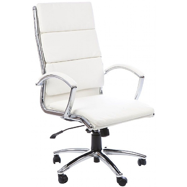 Formosa Enviro Leather Chair Ivory