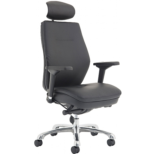 Revolve 24 Hour Bonded Leather Executive Chair
