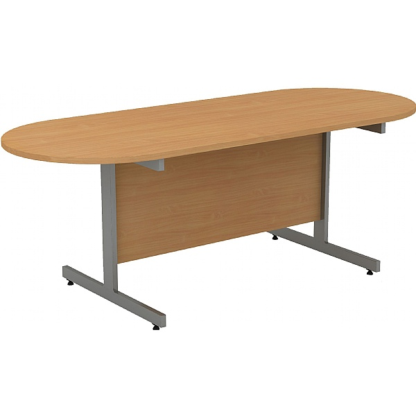 Alpha Plus Double D-End Meeting Tables