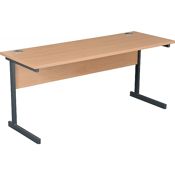 NEXT DAY Karbon K1 Compact Rectangular Cantilever Office Desks