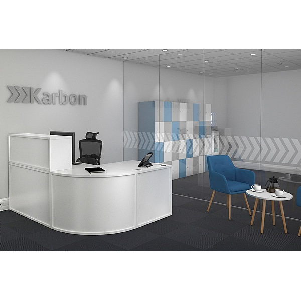Karbon Modular Reception Desks