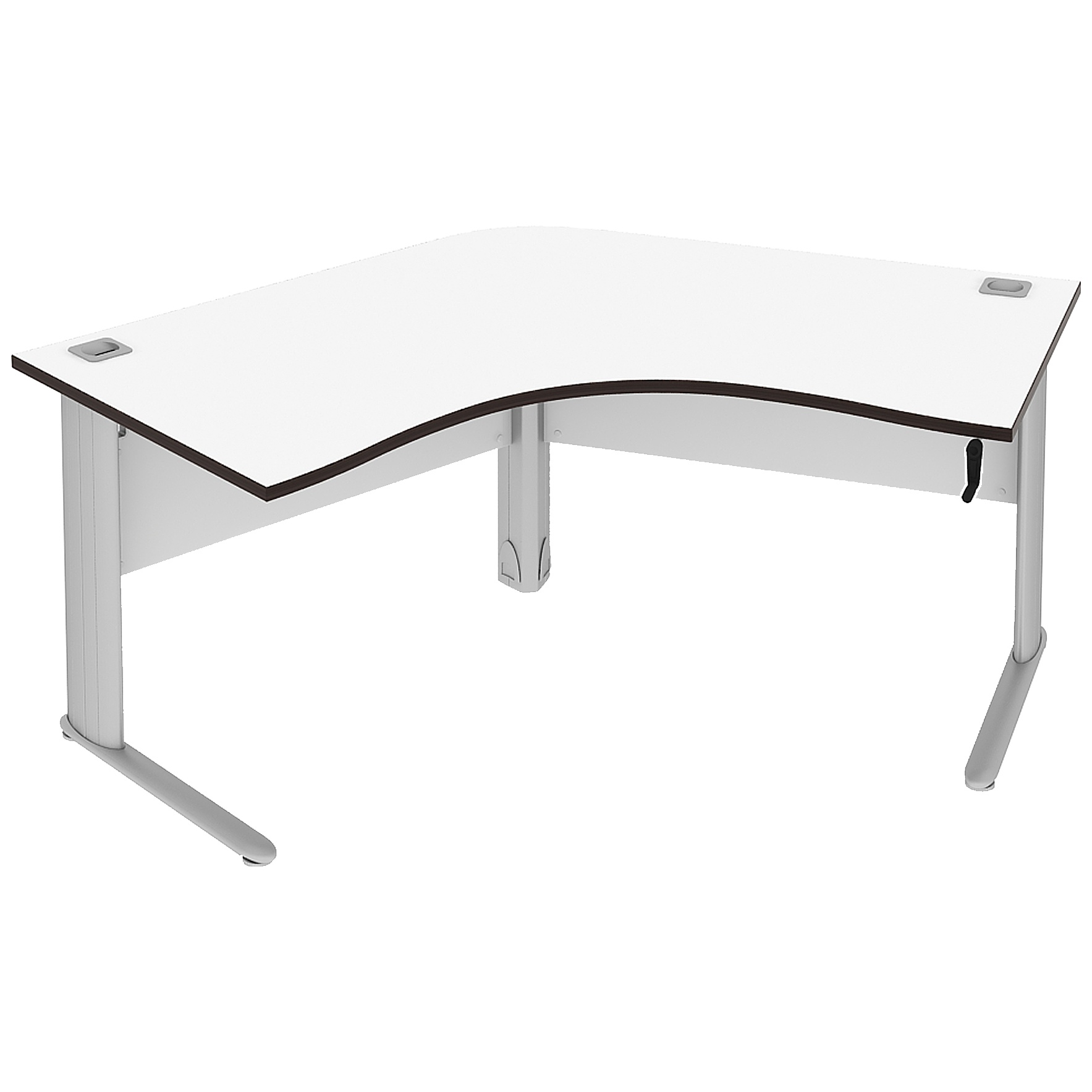 Elite Optima Plus Height Adjustable 120 Degree Workstations Cluster Desks