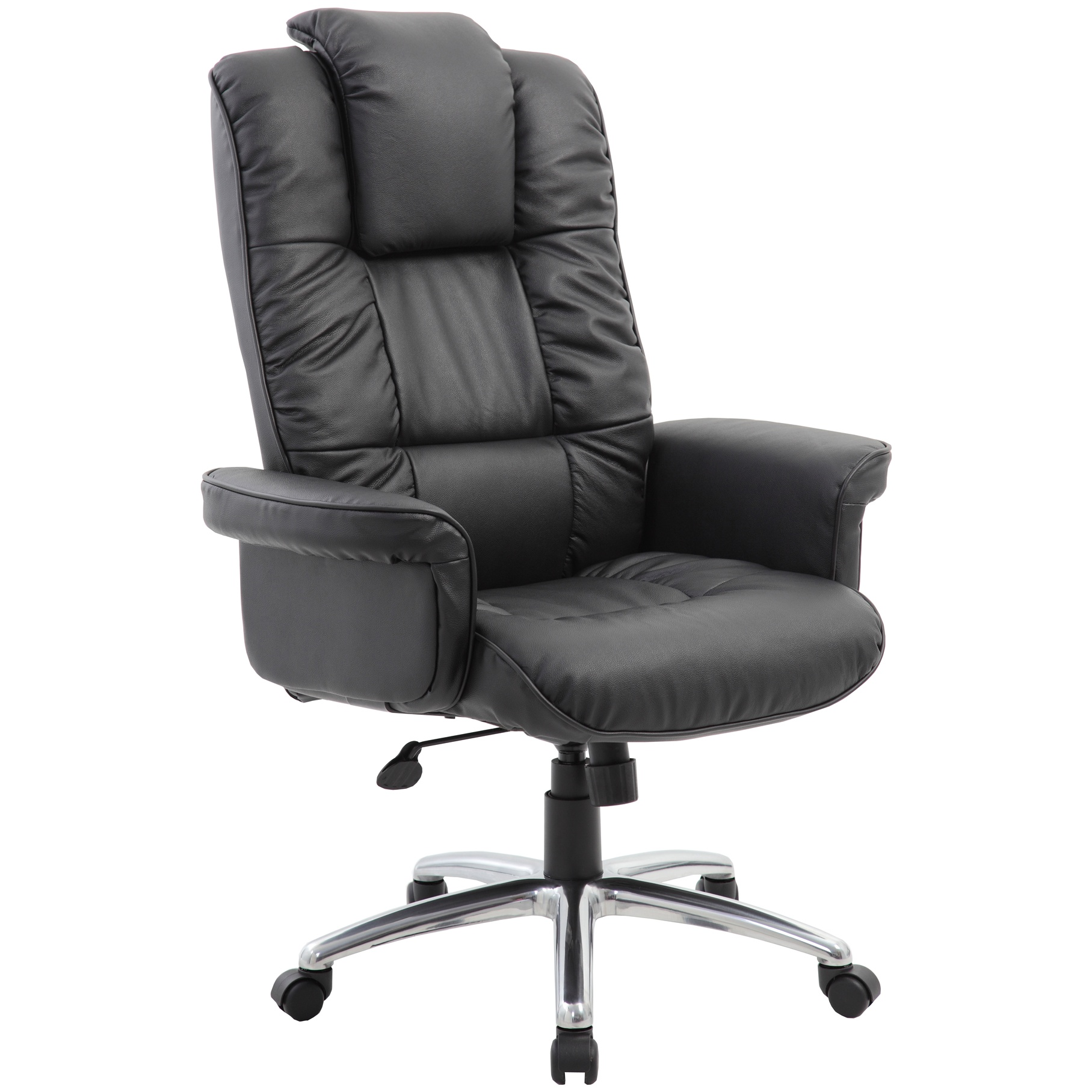 Athens Executive Leather Faced Office Armchair | Executive ...