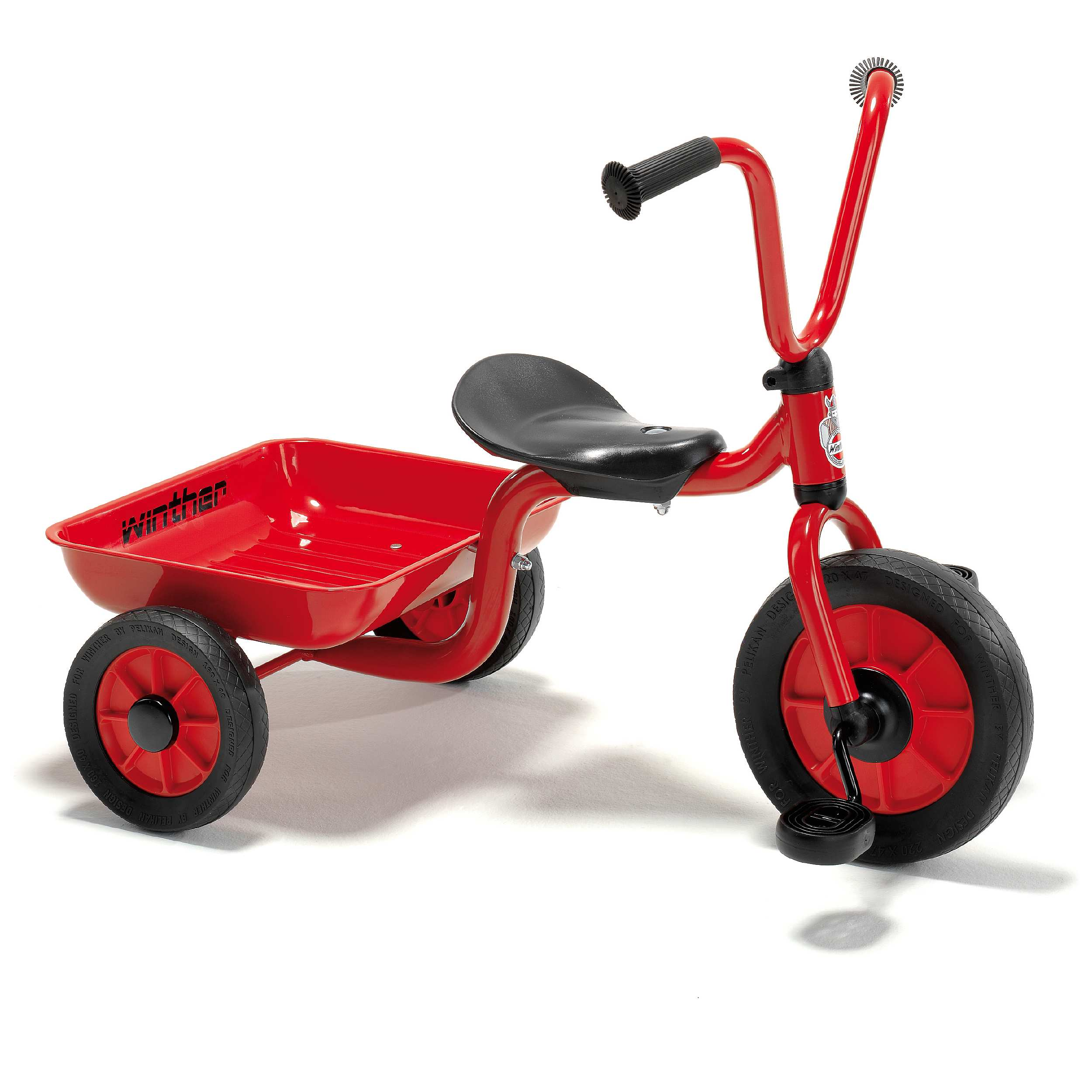Winther Red Mini Viking Low Tricycle