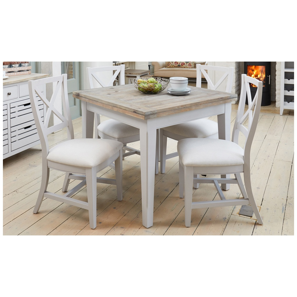 Autograph Solid Wood Square Dining Table Bistro Cafe Tables