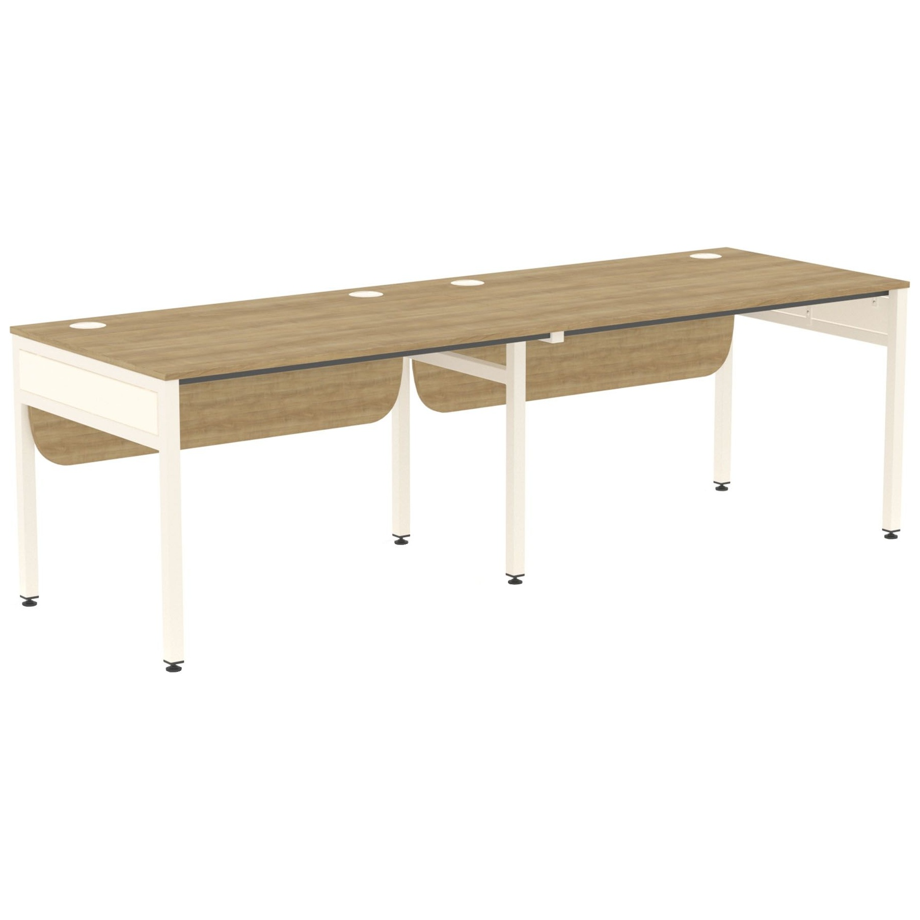 Ratio 2 Person Side By Side Bench Desk Bench Desks