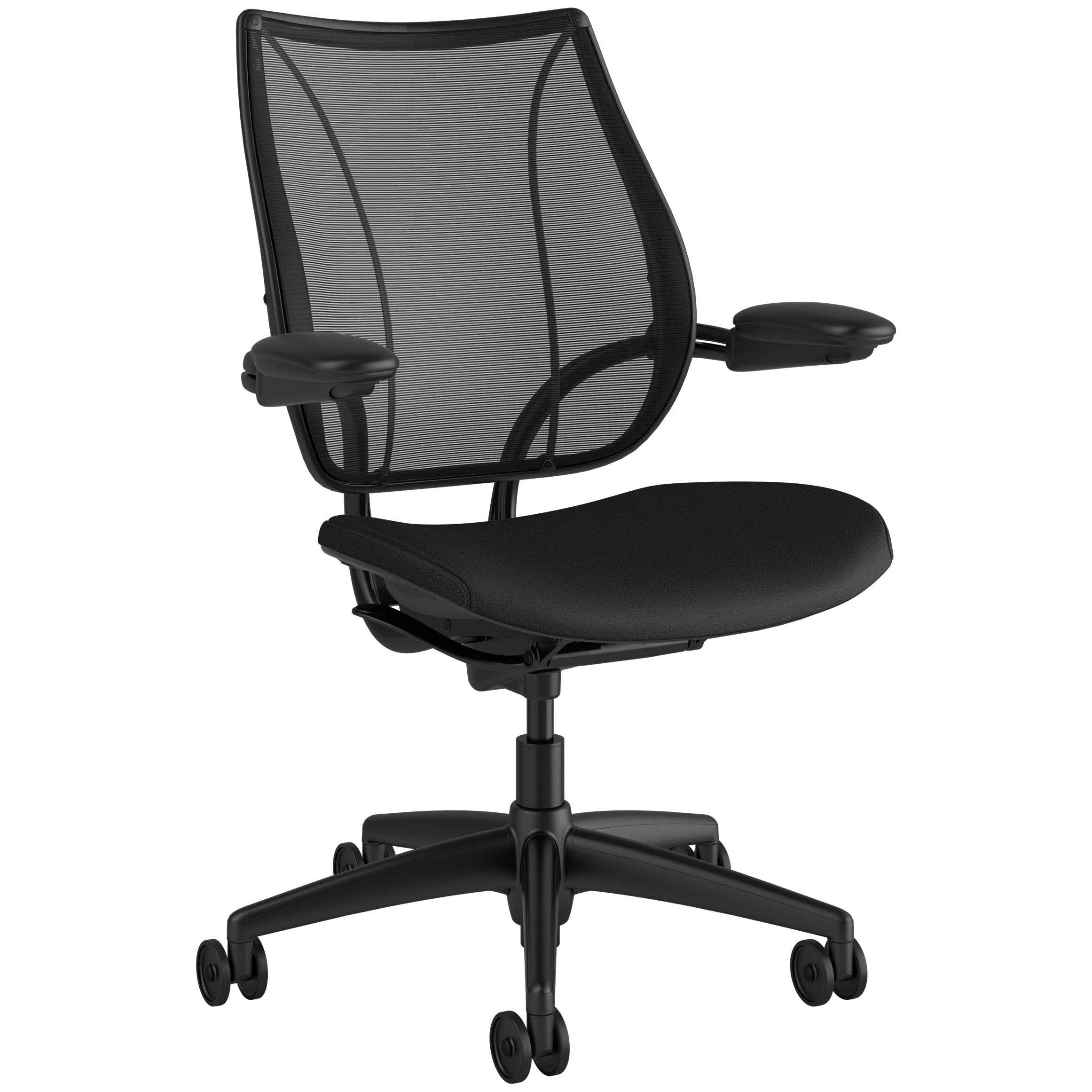 Humanscale Liberty Leather Task Chair Operator Task Chairs