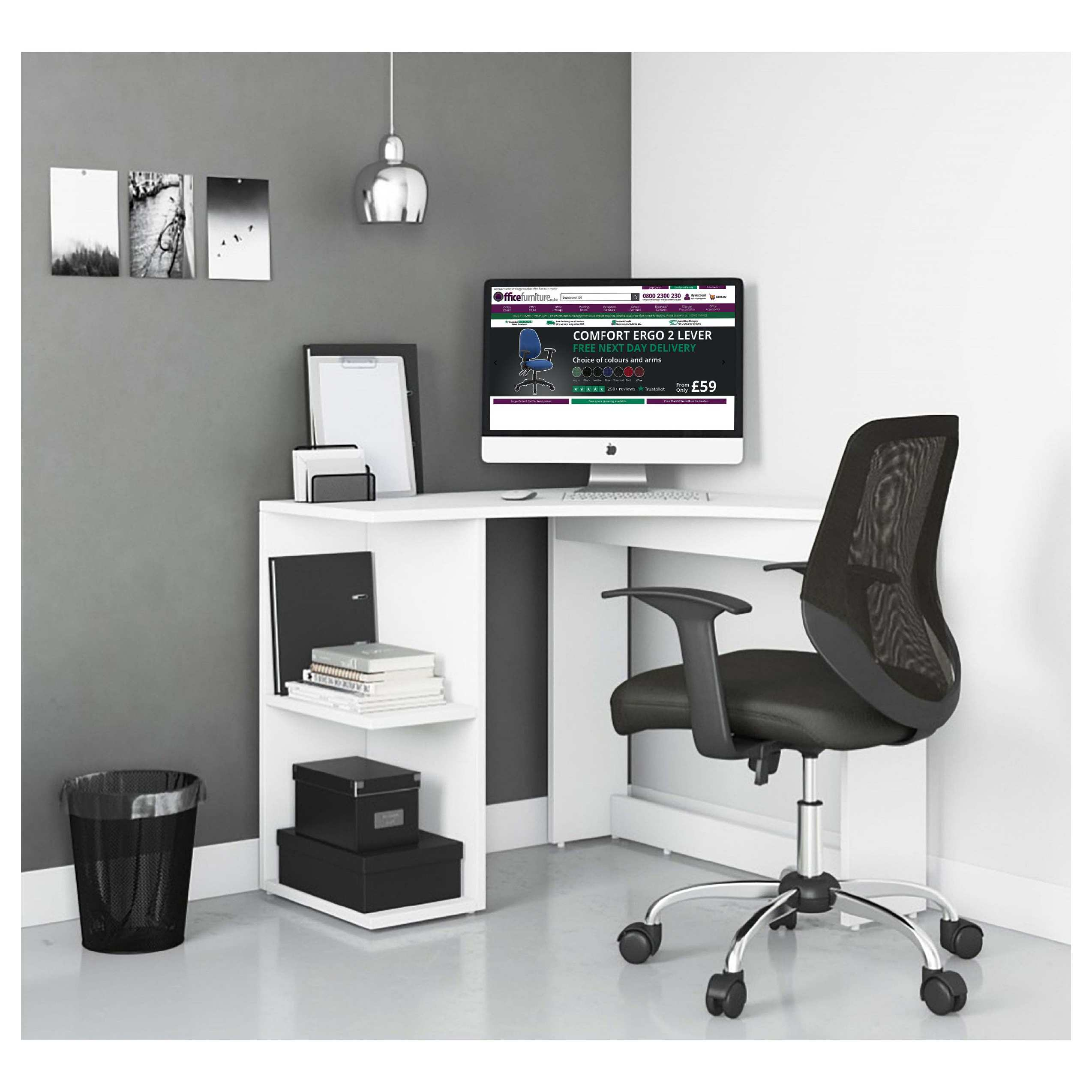 Ace Home Office Corner Computer Desk Computer Desks